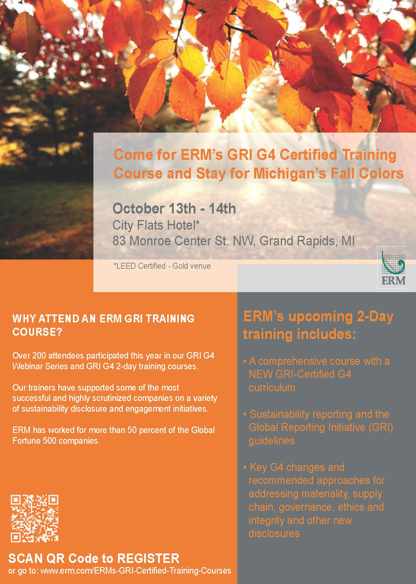 Gri g4 certified training course october 13 west michigan gri flyer fall 2014 michigan training 2 1betcityfo Gallery